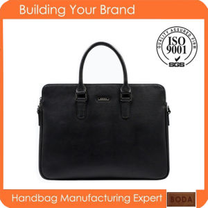 New Design Wholesale Genuine Leather Business Men Bag pictures & photos