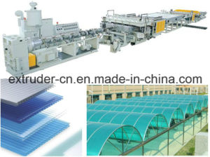 PP Hollow Sheet Extrusion Line PC Hollow Sheet Extrusion Line pictures & photos