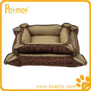 Convertible and Reversible Rectangle Pet Bed (PT38140)