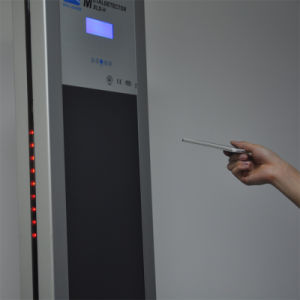 Xld-H Portable Single Post Digital Walk Through Metal Detector with 5zones pictures & photos