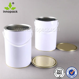 1 Liter Paint Metal Can with Pry Lid/ Coatings Tin Can pictures & photos
