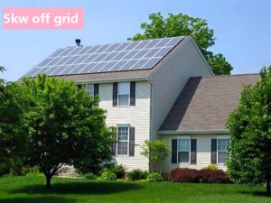 Solar 5kw off Grid Solar Power System pictures & photos