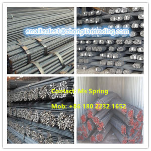 High Quality Deformed Steel Bar and Reinforcing Steel Bars for Constructions pictures & photos