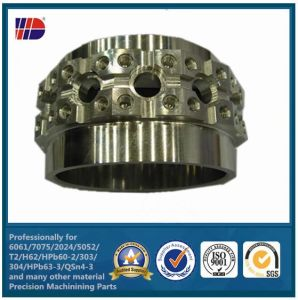 Stainless Steel CNC Turning Parts for Auto (WKC-103) pictures & photos