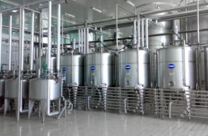 Complete Condensed Milk Processing Line pictures & photos