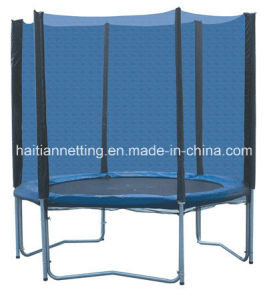 Round Big Trampoline with Safety Net Outside pictures & photos