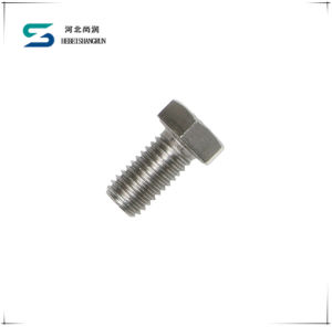 High Quality High Tensile Stainless Steel Full Thread Hex Bolt Hex Head Bolt and Nut pictures & photos