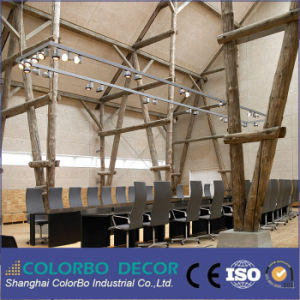Inter-Tenancy Noise Control Wood Wool Acoustic Wall Panels pictures & photos