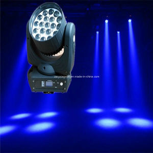 19 Pieces 12W LED Moving Head Zoom Lighting pictures & photos