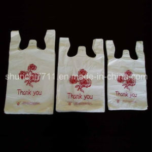 Sizes of Plastic Market Vest Shopping Bag pictures & photos
