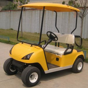 Made in China 2 Seat Electric Low Price Golf Cart (DG-C2) pictures & photos