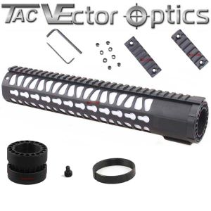 "Custom Wholesale Vector Optics 12"" Ar10 Ar 10 308 A1 A2 Rifle Keymod Key Mod Picatinny Rail System Free Float Handguard with Barrel Nut Gun Accessories Parts pictures & photos"