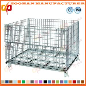 Lockable and Stackable Steel Security Wire Mesh Storage Cage (Zhra11) pictures & photos