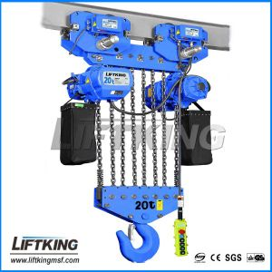 Professional and Experienced Manufacturer of Electric Lifting Chain Hoist pictures & photos