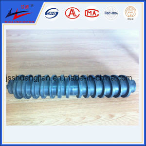 Rubber Bi-Direction Spiral Roller, Conveyor Roller pictures & photos