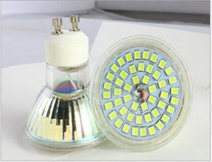 Low Price Glass Material COB LED Spotlight GU10 pictures & photos