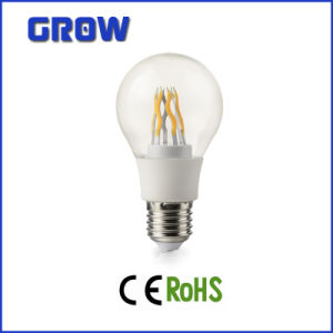 New Project A60 COB with Transparent PC Cover LED Bulb Light pictures & photos