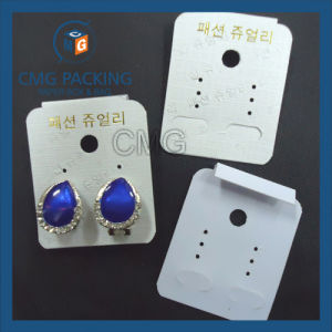 Earring Display Card with Back Bend pictures & photos