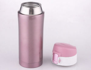 Personality Double Layer Stainless Steel Vacuum Cups pictures & photos