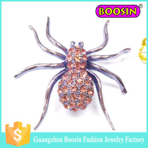 Wholesale Latest Fashion Men′s Custom Metal Animal Faberge Spider Brooch pictures & photos