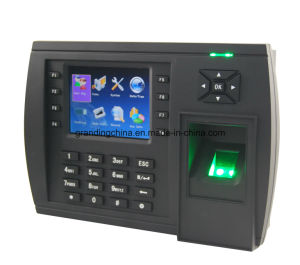Biometric Fingerprint Time Attendance Recorder with Optional GPRS (TFT500/GPRS) pictures & photos