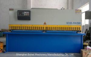 Hydraulic Swing Beam Shearing Machine QC12k-10*2500 Dac-310 pictures & photos