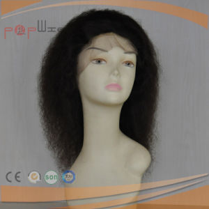 Curly Style Full Lace Indian Remy Hair Women Wig pictures & photos