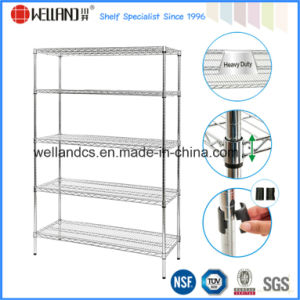 Wire Shelf Metal Display Shelves and Racks Manufacturer pictures & photos