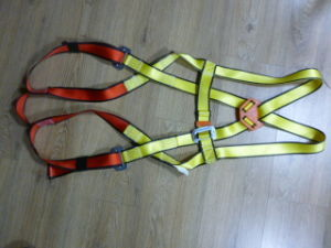Yellow/Red Color Full Body Harness with CE pictures & photos