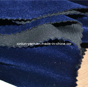 100%Polyester Velvet Fabric for Sofa/Upholstery pictures & photos