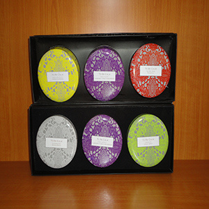 Christmas Gift Tin Candle Set pictures & photos