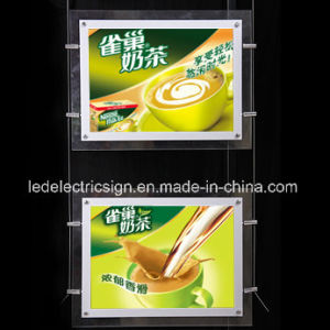 Crystal Ceiling Light Advertising Display with Wall Decoration for Restaurant pictures & photos