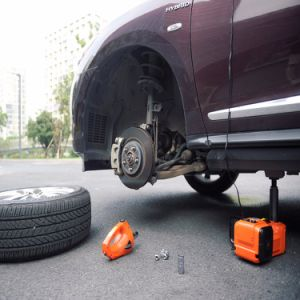 4 Functions Orange Color Electric Lifting Jack with Impact Wrench for Sedan Lift pictures & photos