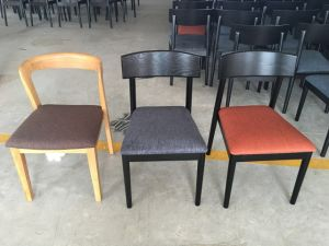 Restaurant Furniture/Wing Chair/Restaurant Chair/Foshan Hotel Chair/Solid Wood Frame Chair/Dining Chair (NCHC-040) pictures & photos