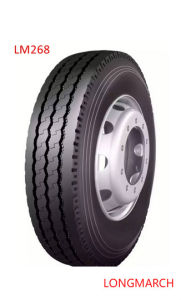 All Steel LONGMARCH Drive/Steer/Trailer Truck Tyre with Tube (LM268) pictures & photos