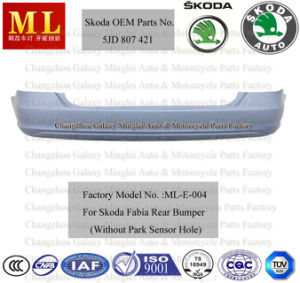 Auto Rear Bumper for Skoda Fabia Fom 2007 (5J6 807 421) pictures & photos