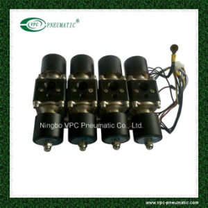 Truck Part Solenoid Valve Air Ride Suspension Manifold Valve Two Dual Digital Air Gauges Panel 4 Switches pictures & photos