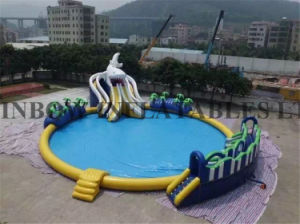 Cheap Price Inflatable Water Park for Summer pictures & photos