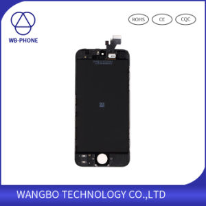 Mobile LCD and Touch Screen Digitizer for iPhone 5 Black&White pictures & photos