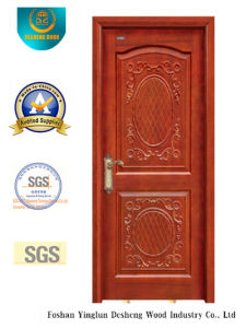 European Style Wood Door with Beautiful Carving (DS-6008) pictures & photos