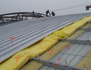 Yx65-430 Aluminum Standing Seam Roofing Panel pictures & photos