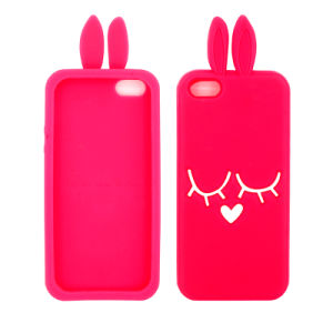 Wholesale Rabbit Silicone Cellphone Cover Silicone Case for iPhone Samsung