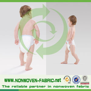 PP Hydrophilic Non Woven Fabric for Diaper Making pictures & photos
