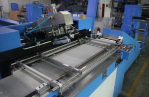Elastic Tapes Automatic Screen Printing Machine with 30cm Printing Width pictures & photos