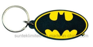 Custom Rubber Silicone PVC Keychain Keyring pictures & photos