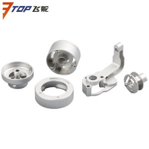 CNC Machining Double Bearing Titanium Tail Pitch Slider pictures & photos