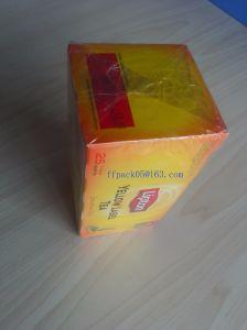 Automatic Horizontal Lipton Tea Box Plastic Film Packaging Machine Equipment pictures & photos