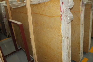 Empire Gold Marble Tile for Interior Wall Covering pictures & photos