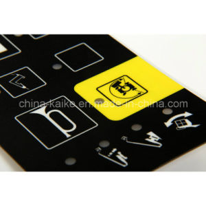 Silver Paste Membrane Switch Keypad with 4 Keys pictures & photos