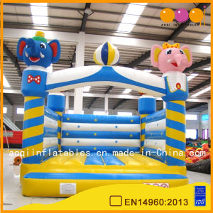 Catoon Square Inflatable Bouncer for Kid (AQ211) pictures & photos